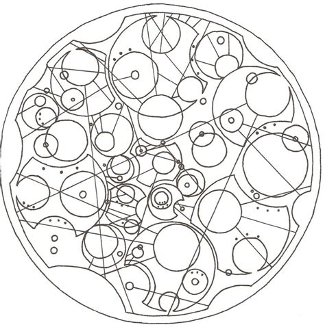 doctor who gallifreyan quote by malallory on deviantart