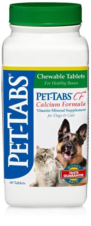 calcium for dogs pet tabs calcium for dogs and cats 60 tabs by virbac