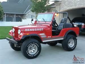 Jeep cj5 renegade for sale jeep cj5 renegade for sale