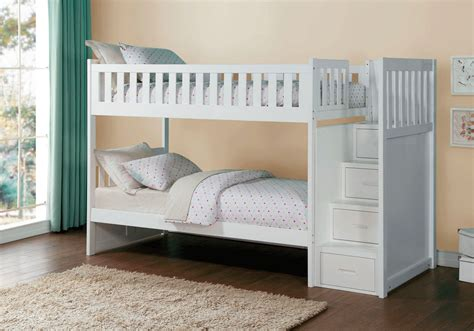 Overstock Bunk Beds Galen Bunk Bed With Storage Steps Overstock Warehouse