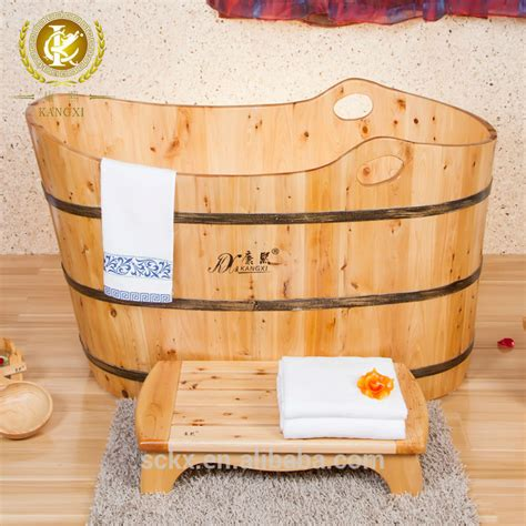 buy wooden bathtub customized size handmade wooden soaking tubs complete