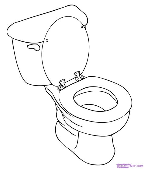 how to toilet a at how to draw a toilet step by step stuff pop culture free drawing tutorial