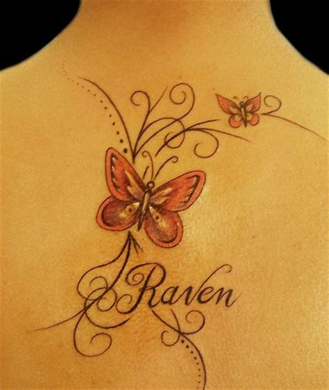 butterfly tattoo made out of names 27 intriguing name tattoos tattoo me now