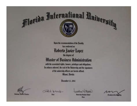 Florida International Mba Programs by Fiu Mba Degree