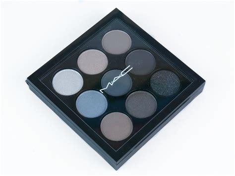 Eyeshadow X9 Mac Review mac on mac eye shadow x9 palette in quot navy times nine