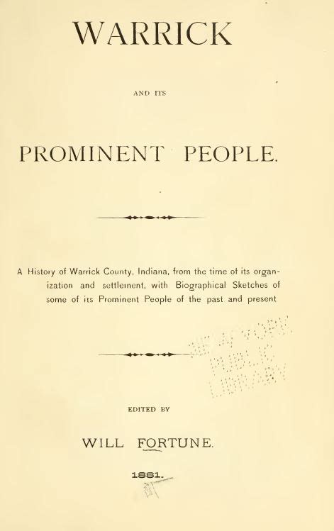 Warrick County Records 1881 Warrick County Indiana In History And Genealogy Ancestry Family Dvd B36 Ebay