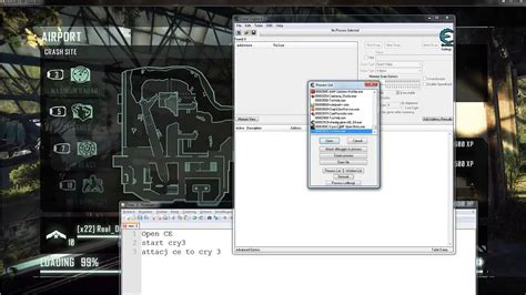 crysis  beta inf ammo  reload cheat engine table tutorial youtube