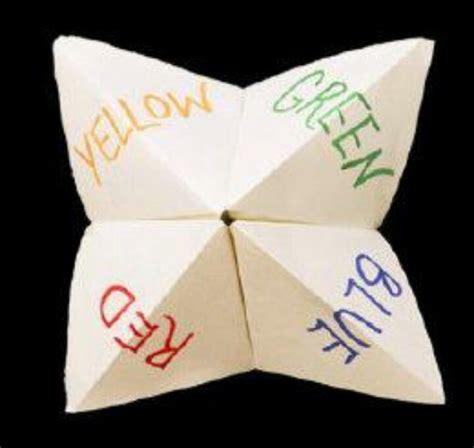 Origami Fortune - best 25 paper fortune teller ideas on origami