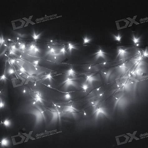 white led string lights 6500k white led string lights 10m 220v free shipping