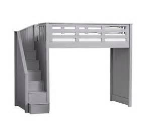 stair loft bed pottery barn