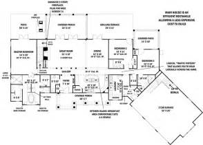 Floor Plans First First Floor Plan Of Ranch House Plan 98267 Home