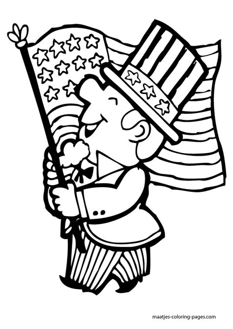 Independent Day Free Colouring Pages Independence Day Coloring Pages