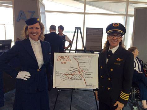 Anniversary Of The Flight Attendant by Happy Anniversary Delta Jet