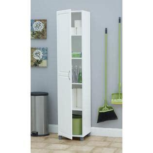 dorel kendall 16 quot white utility storage cabinet