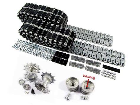 Mato 5 1 Steel Gearbox W Bearing aliexpress buy mato 1 16 metal tracks metal sprockets metal idler wheels with bearings