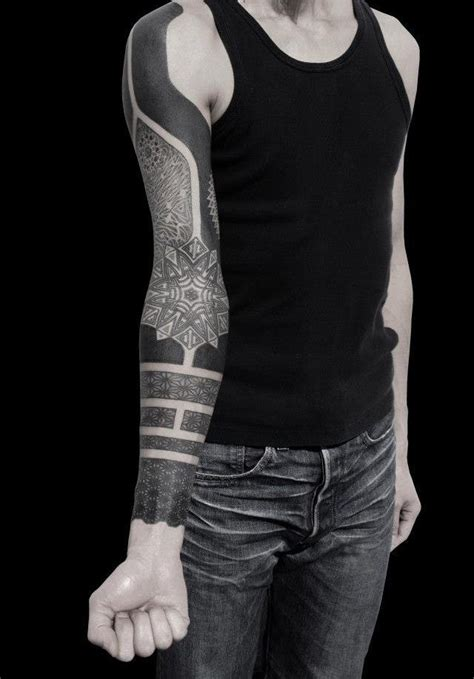 heavy hand tattoo creative heavy black sleeve useful for cover ups