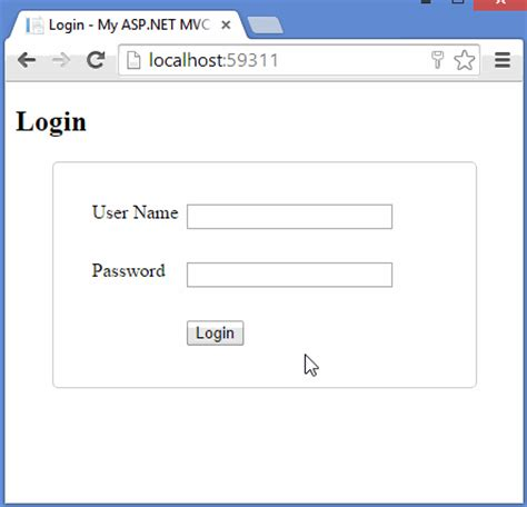 asp net login page template how to write code for login page in asp net