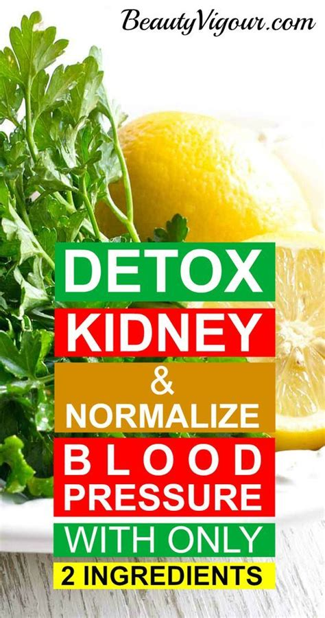 Kidney During Detox Of Heroin by How To Detoxify The Kidneys And Normalize Blood Pressure