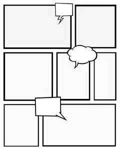 Graphic Novel Template by Comic Template