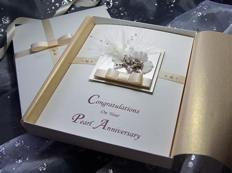 Handmade Luxury Cards - kirika handmade luxury anniversary card