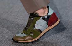 Kickers Casual Brogue Trendy 1 glittery flamboyant footwear lazy oaf x kickers