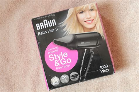 Braun Hair Dryer Hd350 braun satin hair 3 style go hd350 hair dryer review the indian