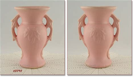 Mccoy Vases Value by Image Pink Vase Mccoy Pottery Values