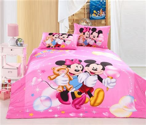 minnie mouse bedding twin pink mickey mouse and minnie mouse twin full bedding disney bedding sets kids bedding sets