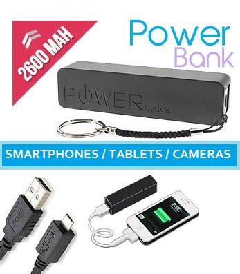 Power Bank Ibiza universal power bank slim 2600mah nu 8 95