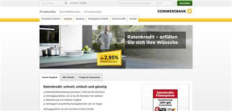commerzbank kredit erfahrungen commerzbank erfahrungen und bewertungen kredit im test