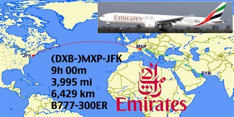 emirates jfk to dubai flight status top 16 longest emirates fifth freedom routes coming to a