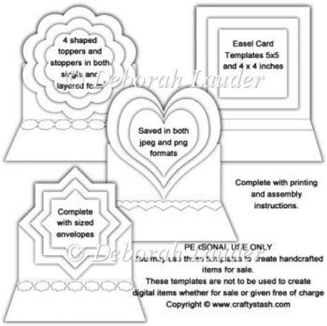 easel box card template 1000 ideas about card templates printable on