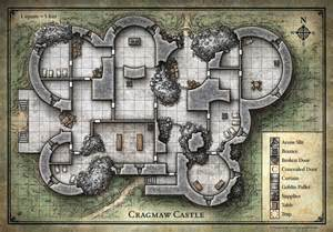 d d castle floor plans my realms starter set sandbox 5 cragmaw hideout