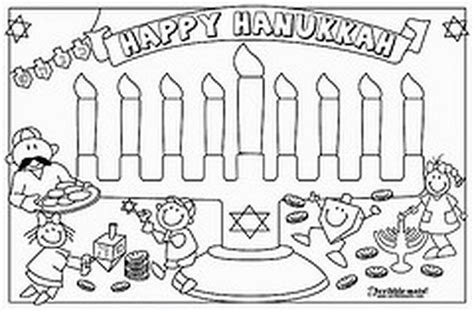 coloring page hanukkah hanukkah coloring pages menorahs family holiday net