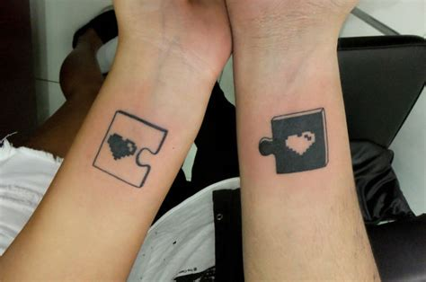 couple tattoos that complete each other tattoos incomplete without each other