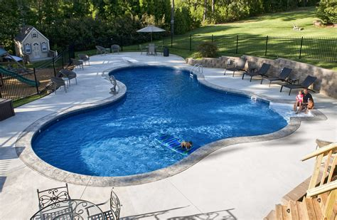 cool pool designs cool aloha swiming pools design ideas