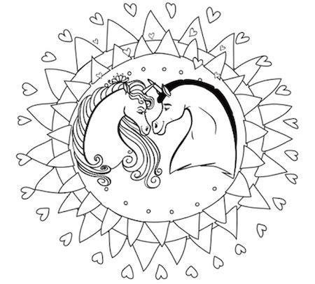 imagenes de unicornios con alas para colorear unicornios mandalas y zentangles con pegasus para