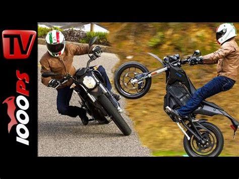 Elektro Motorrad Test 2015 by Video 2015 Zero S Zf12 5 Test Action Sound Fazit
