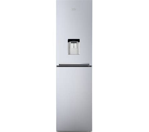 Fridge With Water Dispenser No Plumbing by Buy Beko Cfg1582ds 50 50 Fridge Freezer Silver Free