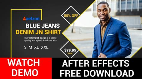 After Effects Advertisement Templates Free Download After Effects Commercial Template Free Youtube After Effects Commercial Template Free