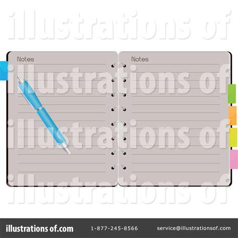 Wedding Notebook Organizer Free Downloads by Organizer Clipart 29173 Illustration By Melisende Vector