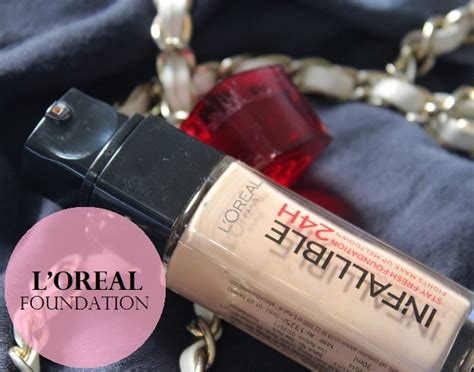 l oreal infallible makeup liquid foundation mugeek