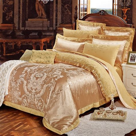 Sparkle Comforter Set by Luxury Gold Sparkle Rococo Pattern Abstract Design Royalty