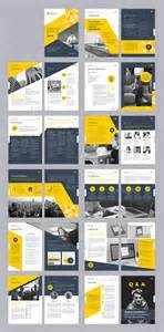 Brochure Template Ideas by 20 Modern Style Brochure Catalogue Template Design