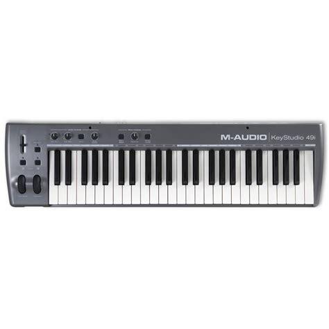 Keyboard M Audio m audio keystudio 49i midi keyboard usb interfaces from inta audio uk