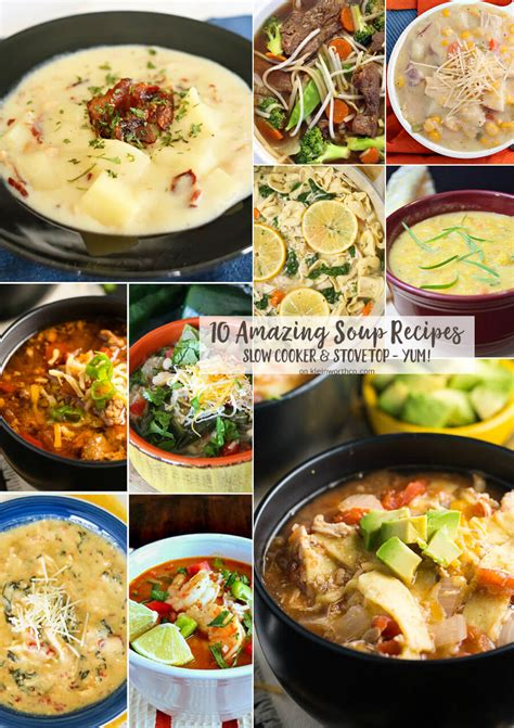 10 amazing soup recipes 1275 kleinworth co