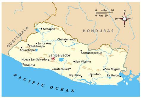 america map el salvador maps of america elsalvador map jpg