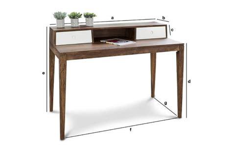 dimensione scrivania scrivania nar 246 d design in stile scandinavo pib