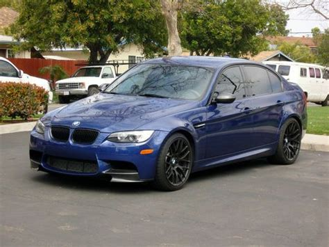 2011 M3 Sedan by Buy Used 2011 Bmw M3 Sedan 4 Door 6 Sp Mt Le Mans Blue
