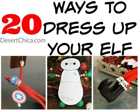 printable elf accessories elf on the shelf costume ideas desert chica